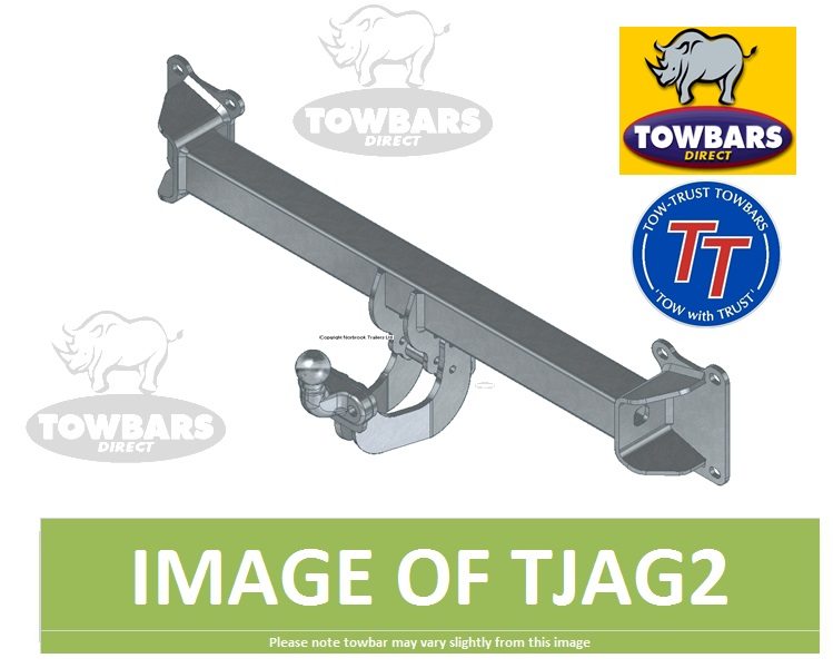 Towbar To Fit Jaguar Xf Saloon X260 2015on Flange Tow