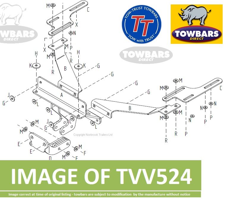 volvo v50 towbar fitting instructions